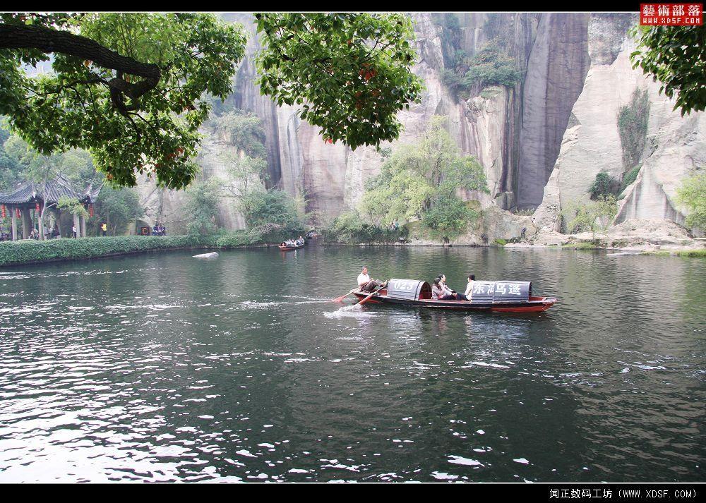到绍兴东湖风景区